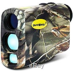 LaserWorks LW1000PRO Professional-Class Laser Rangefinder for Hunting and Golf