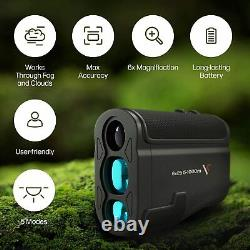 Laser Range Finder for Golf Hunting & Archery Precision, 3000FT Distance Measure