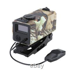Laser Range Speed Finder Riflescope Laser Rangefinder for Hunting Deer Shooting