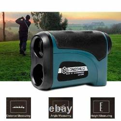 Laser Rangefinder 1200m Distance Range Hunting Digital Monocular Measuring Tool
