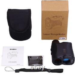 Laser Rangefinder 1500M Handheld Telescope Golf Rangefinder Hunting(no Battery)