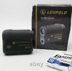 Leupold RX-1200i Digital Laser Rangefinder Hunting Golf With extra battery Nice