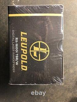 Leupold RX-1600i TBR/W Blaze Orange Laser Rangefinder with DNA 173806