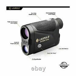 Leupold RX 2800 TBR Laser Rangefinder Black Gray Textured Slip Resistant Rubber