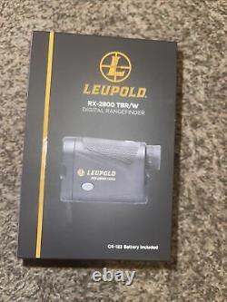 Leupold RX-2800 TBR/W Laser Rangefinder $599 Retail