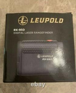 Leupold RX-950 Laser Rangefinder Black Store Display Missing Battery Cover