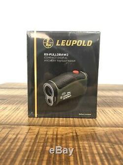 Leupold RX-Fulldraw 2 with DNA Laser Digital Rangefinder Brand New Sealed
