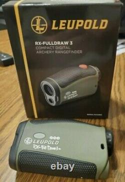 Leupold RX-Fulldraw 3 with DNA Laser Rangefinder store Display