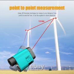 Mileseey 600-1500m PF3S Golf Laser Rangefinder Hunting Telescope Range Finder HY