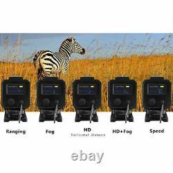 Mini Hunting Rangefinder 700m Distance Speed Measurer Night Laser Range Finder