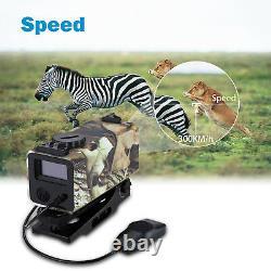 Mini Laser Range Finder Riflescope Sight Rifle Scope Hunting Mate 300km/h New