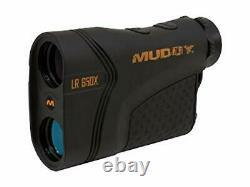 Muddy Laser Range Finder 650 Yard w HD Multi, One Size (mudlr650x)
