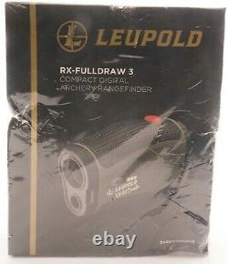 NEW Leupold RX-Fulldraw 3 with DNA Laser Rangefinder SEALED IN BOX SHIPS FREE