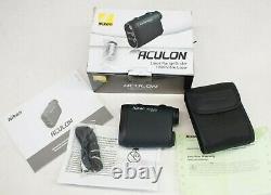 NEW Nikon Aculon Laser Rangefinder Dark Green #8397