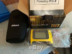NEW Nikon Forestry Pro II Laser Rangefinder Hypsometer NIB Free Shipping