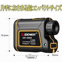 NEW SNDWAY 1500m Laser Distance Meter Waterproof and Dustproof from JAPAN