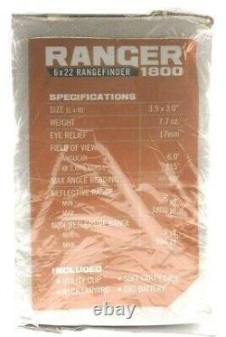 NEW Vortex Ranger 1800 Laser Rangefinder RRF-181 Battery Included