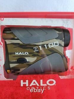 NIB HALO Optics Z1100 Laser Rangefinder Angle Assist Mossy Oak Bottomland Camo