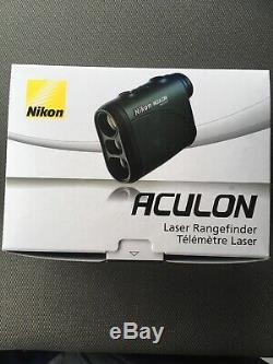 NIKON 8397 Aculon AL11 Laser Rangefinder Dark Green