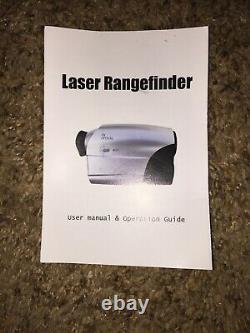 NOVA Laser Rangefinder Golf Hunting 7x Zoom JCS602-1000