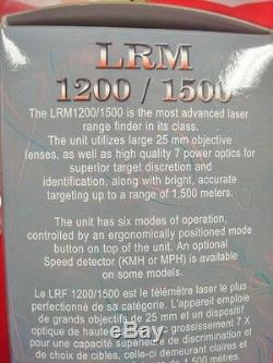 Newcon Optik LRM 1500SPD Laser Range Finder Monocular NOS New in Box