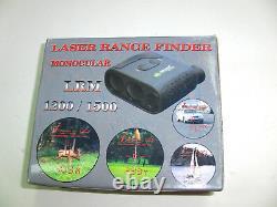 Newcon Optik LRM 1500SPD Laser Range Finder/Speed Finder Monocular
