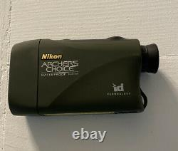 Nikon Archer's Choice Laser Rangefinder for Bowhunting Works Great