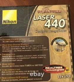 Nikon Laser 440 Team Realtree Compact Range Finder Water Resistent