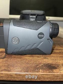 SIG SAUER KILO2200BDX 7X25 Laser Rangefinder Black