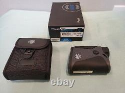 SIG SAUER KILO 1400BDX 6x20mm Laser Range Finder BRAND NEW 6x20mm 3R Digital