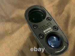 SIG SAUER KILO 2000 LASER RANGE FINDER 7X25mm