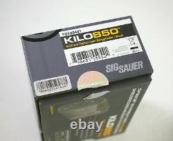SIG SAUER KILO 850 4x20 Digital Laser Rangefinder barely used in box complete