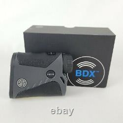 SIG Sauer KILO 1400BDX 6x20mm Laser Range Finder -Store Display- New