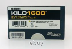 SIG Sauer Kilo1600 Laser Range Finding Monocular 6x22mm SOK16608