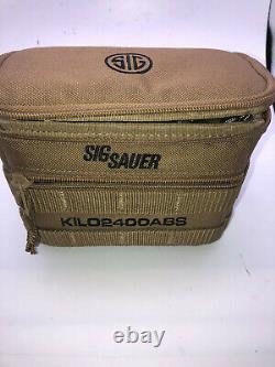 SIG Sauer Kilo2400 ABS Applied Ballistics System 7x25mm Laser Rangefinder Kit