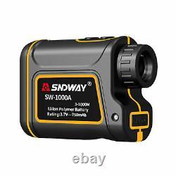 SNDWAY 6x Hunting Golf Laser Distance Checker Telescope laser Distance Meter UK