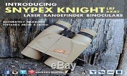 SNYPEX Knight LARF 1800 8X42 Tactical Laser Rangefinder Binoculars with ARC