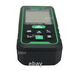 SW-100G Laser Distance Meter 100M Digital Laser Rangefinder for Outdoor Indoor