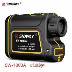 Sadway Laser Range Finder 6x Telescope Distance Meter 600m/1500m Hunt Golf Sport