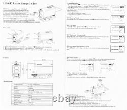 Sale Ohhunt 700M Mini Laser Rangefinders Tactical Hunting Rifle Scope Sight OLED