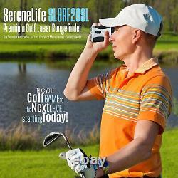 SereneLife Laser Range Yardage Finder Digital 6X Golf Hunting Distance Meter