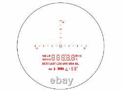 Sig Sauer KILO2200BDX 7X25mm Laser Range Finder Monocular, Milling Grid Reticle