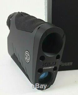 Sig Sauer KILO2200BDX Ballistic Data Xchange Laser RangeFinder 7x25mm Mill Retic