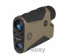 Sig Sauer KILO2400ABS 7X25mm Digital Ballistic Laser Range Finder Monocular, FDE