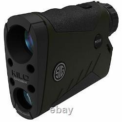 Sig Sauer KILO2400BDX 7X25mm Laser Rangefinder Monocular, Milling Grid Reticle