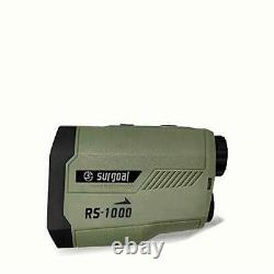 Surgoal Hunting Range Finder 1000Yard Laser Rangefinder High Accuracy 6X