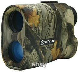 TecTecTec ProWild Hunting Rangefinder Laser Range Finder for Camo