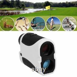 Telescope Laser Range Finder Golf Hunting Sports Rangefinder Club Case Measure