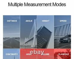 Telescope Laser Rangefinder LCD Laser Distance Meter Hunting Range Find Measure