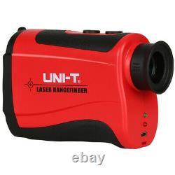 UNI-T 600M 7X Laser Range finder Distance Meter Monocular Telescope Speed Tester